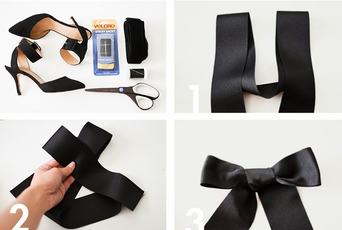 Picture Of elegant diy bow heels  3