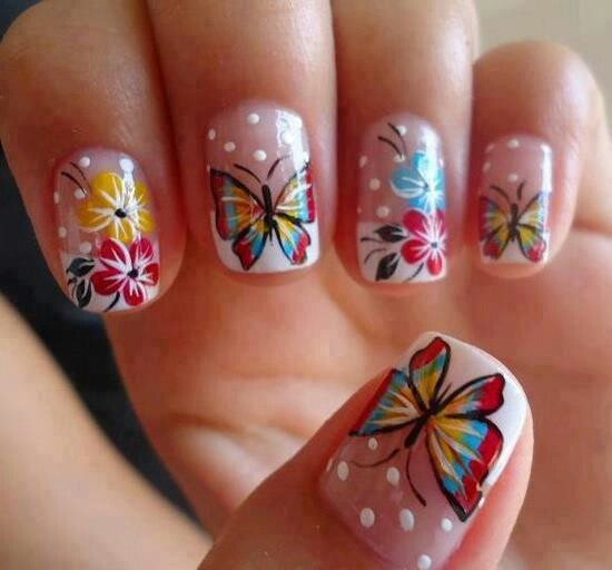 Picture Of eye catching summer nails designs  20
