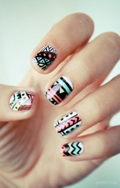 Eye Catching Summer Nail Designs