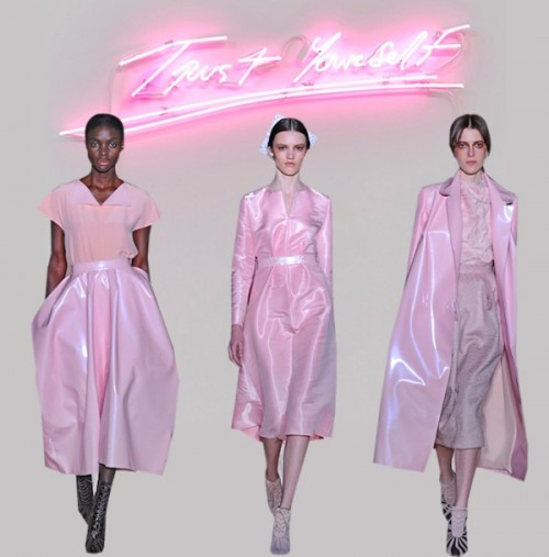 Fall 2013 Fashion Trend Alert: Bubble Gum Color