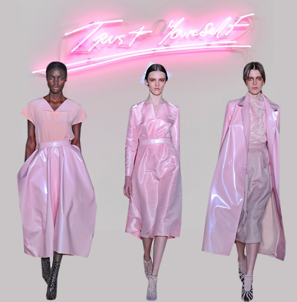 Picture Of fall 2013 fashion trend alert bubble gum color  3
