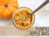 pumpkin and apple facial mask