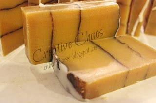 pumpkin spice soap (via cabinofbows)