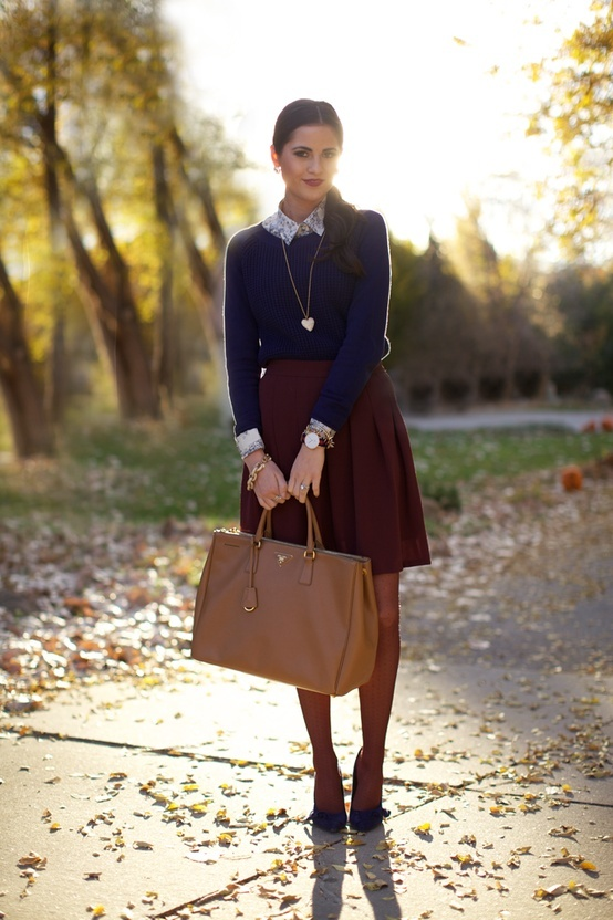 Picture Of fall outfits for work to steal  9