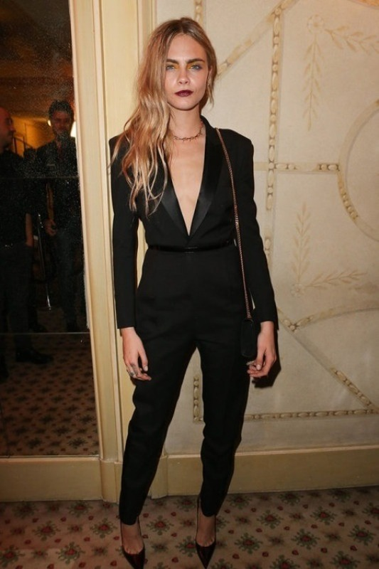 Picture Of fashion trend alert 10 sexy pantsuits ideas without a shirt  3