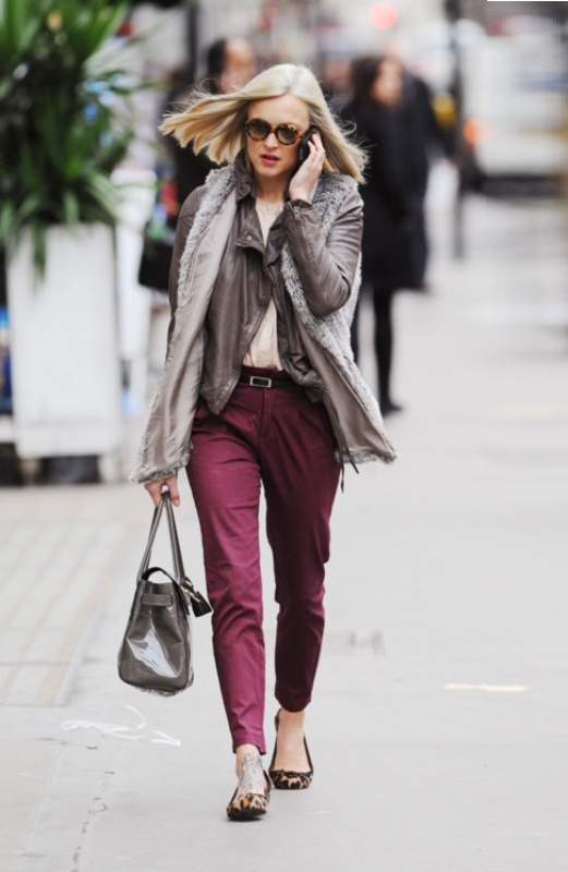 Picture Of fashion trend alert 15 ideas how to wear clothes in wine shades  9