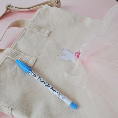 Feminine DIY Ballerina Tulle Tote Bag