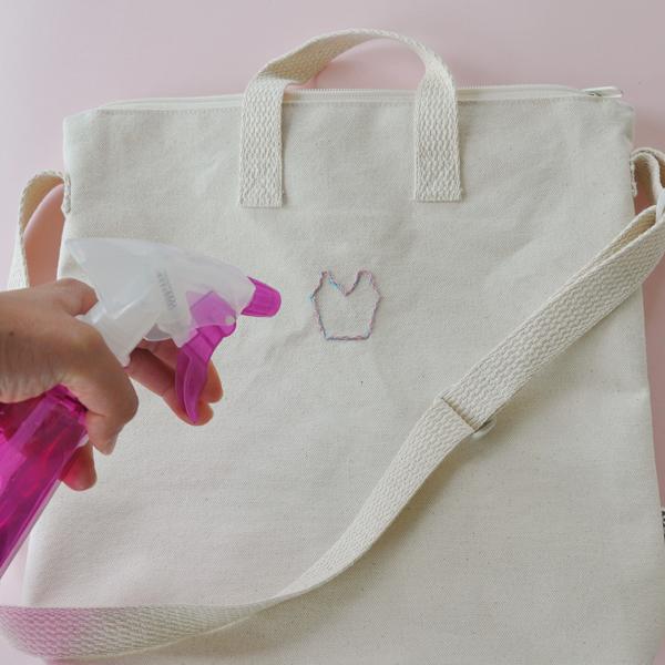 Picture Of feminine diy ballerina tulle tote bag  5