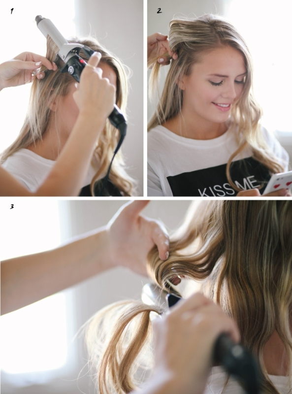 Picture Of festive and chic diy finger waves hairstyle  3