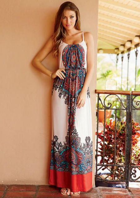 28 Flowy And Feminine Summer Maxi Dresses To Rock - Styleoholic