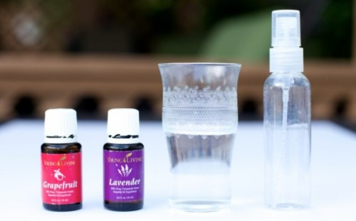 Chemical Free DIY Grapefruit And Lavender Summer Body Spray