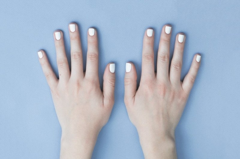 Picture Of fresh and lovely diy geometric nail art to try now  2
