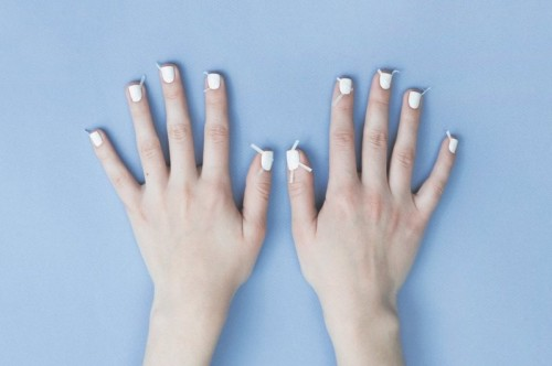 Fresh And Lovely DIY Geometric Nail Art To Try Now