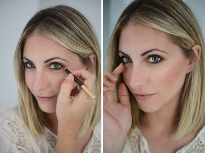 Picture Of fresh and pretty diy summer bronzed peach makeup  4