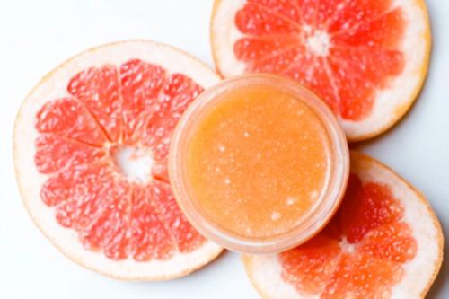 Fresh DIY Grapefruit Sugar Body Scrub