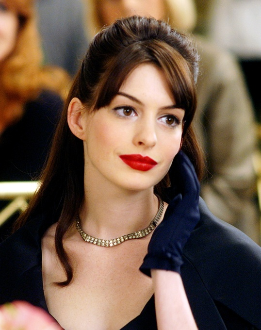 Picture Of from coral to cherry celebrities red lips looks  20