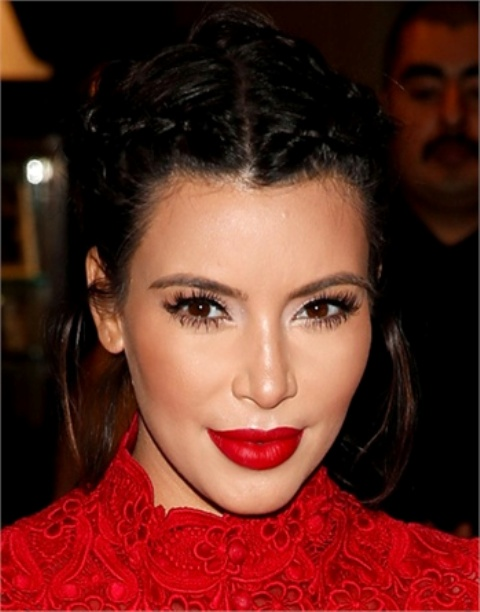 Picture Of from coral to cherry celebrities red lips looks  5