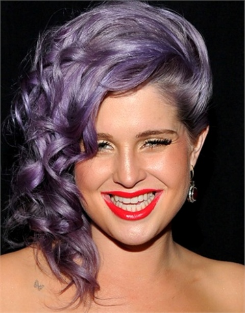 Picture Of from coral to cherry celebrities red lips looks  6