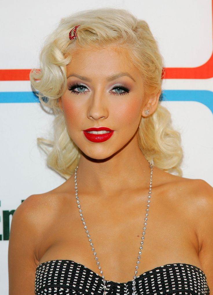Picture Of from coral to cherry celebrities red lips looks  8