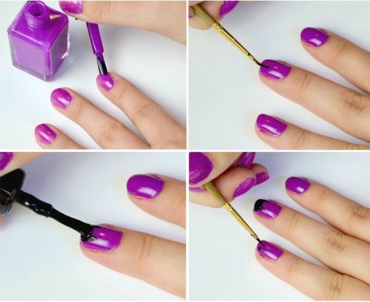 Picture Of funny diy kitty cat nail art to make  2