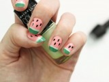 funny-diy-watermelon-nail-art-1