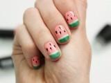 funny-diy-watermelon-nail-art-3