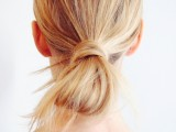 fuss-free-diy-messy-looped-ponytail-for-everyday-wear-3