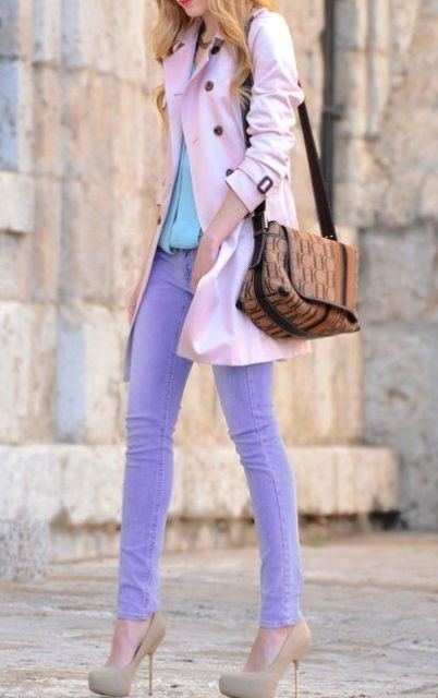 a01f1676888 Picture Of girlish and romantic lavender work outfits 13