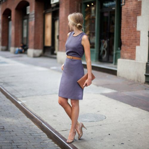 b61fb7aeb49 Picture Of girlish and romantic lavender work outfits 5