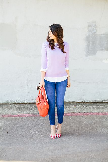 16 Girlish And Romantic Lavender Outfits For Work