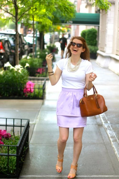 Girlish And Romantic Lavender Outfits For Work