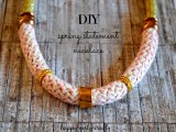 girlish-diy-gold-and-pink-statement-necklace-1