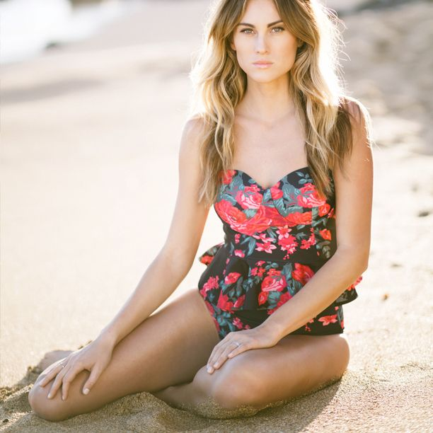 Picture Of girlish floral swimsuits to look stunning  22