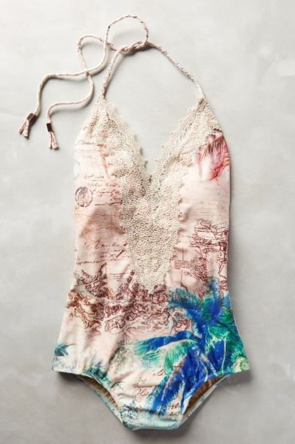 Girlish Lace Swimsuits To Rock This Summer