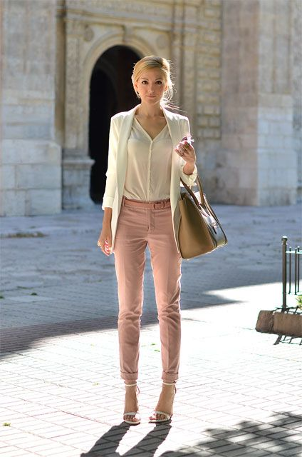 Picture Of Girlish Pastel Work Outfits For This Spring 1