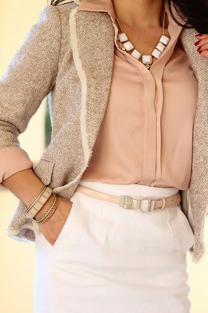 Picture Of girlish pastel work outfits for this spring  10