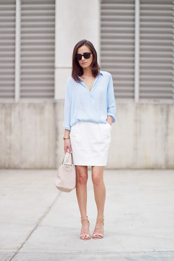 Picture Of girlish pastel work outfits for this spring  11