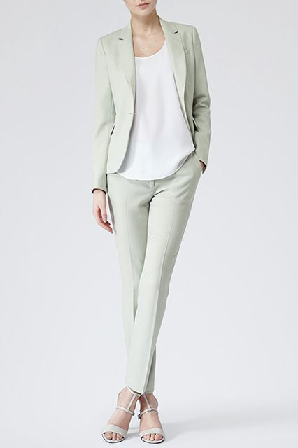 Picture Of girlish pastel work outfits for this spring  23