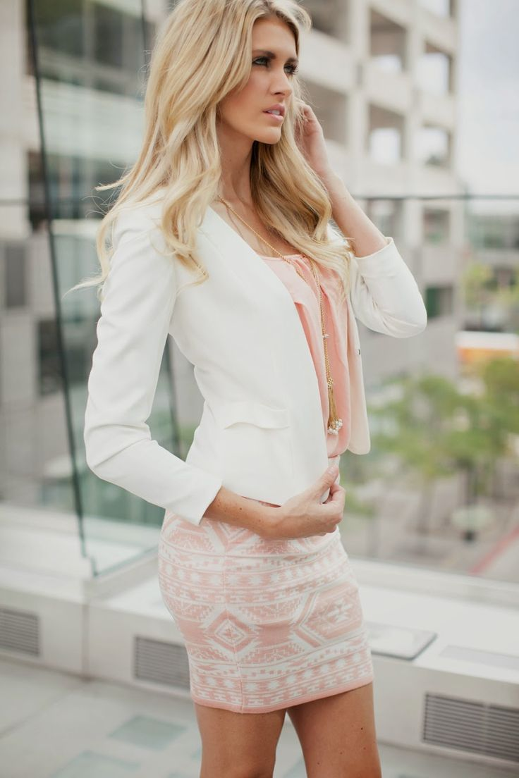 Picture Of girlish pastel work outfits for this spring  3