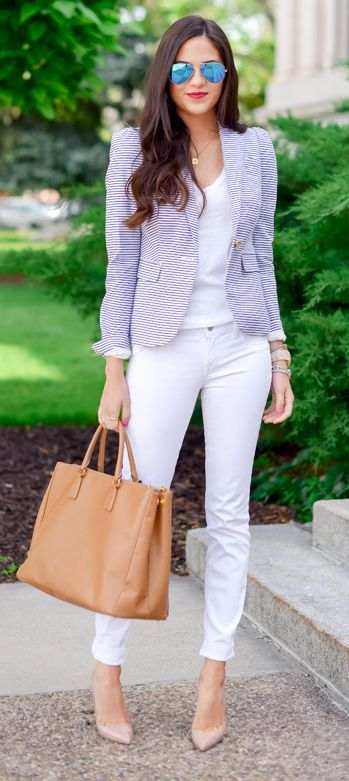 Picture Of girlish pastel work outfits for this spring  8