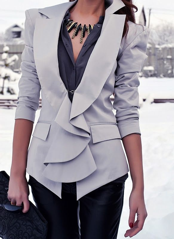 Picture Of girlish ruffle work outfits for stylish ladies  2