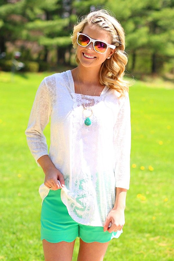 Picture Of girlish summer lace tops to get inspired  13