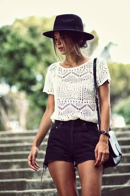 Picture Of girlish summer lace tops to get inspired  14