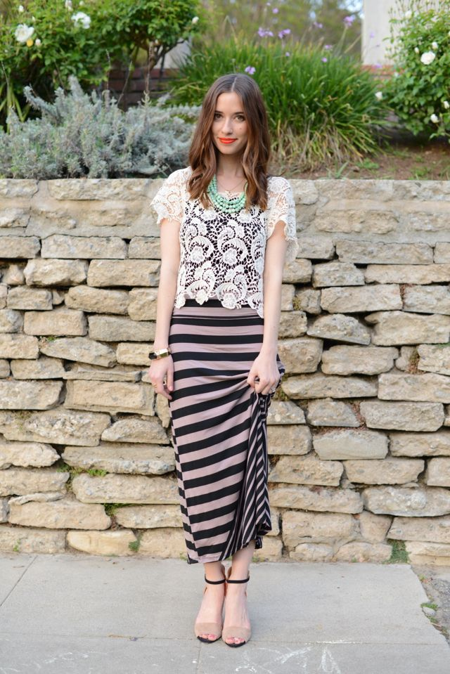 Picture Of girlish summer lace tops to get inspired  15