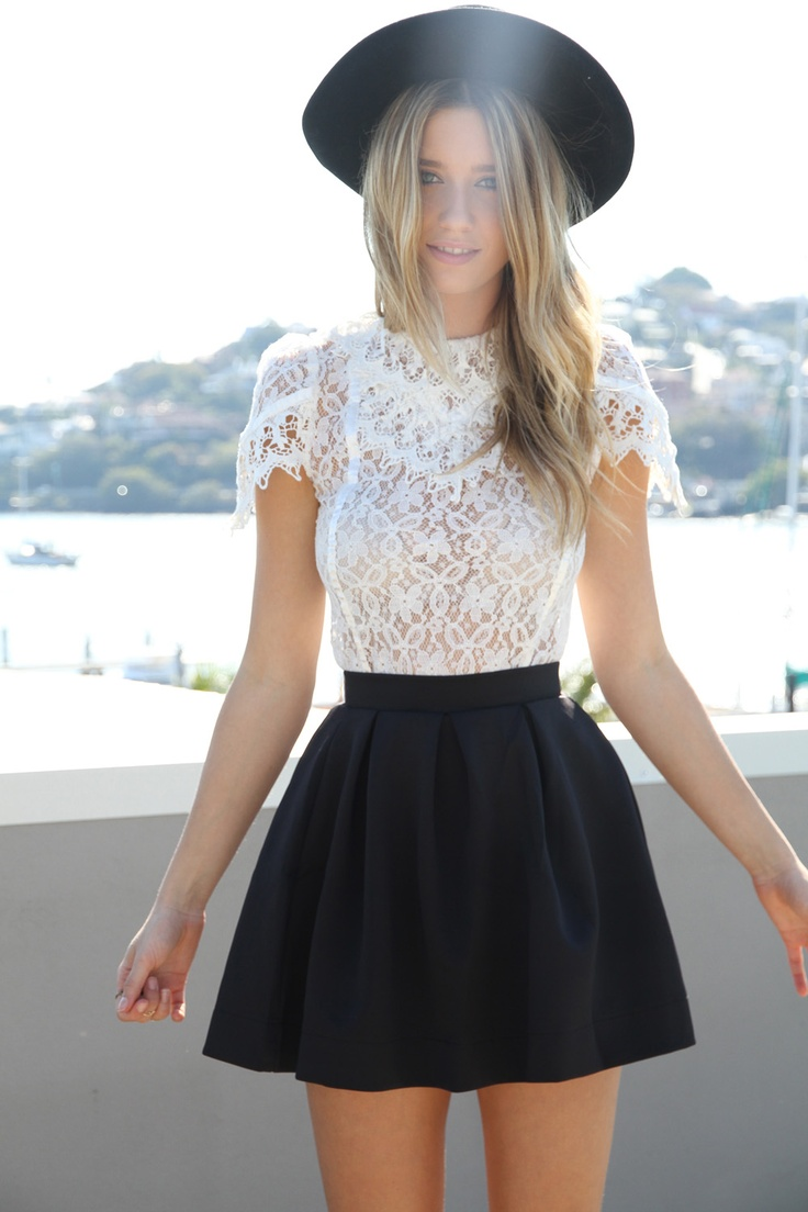 Picture Of girlish summer lace tops to get inspired  18
