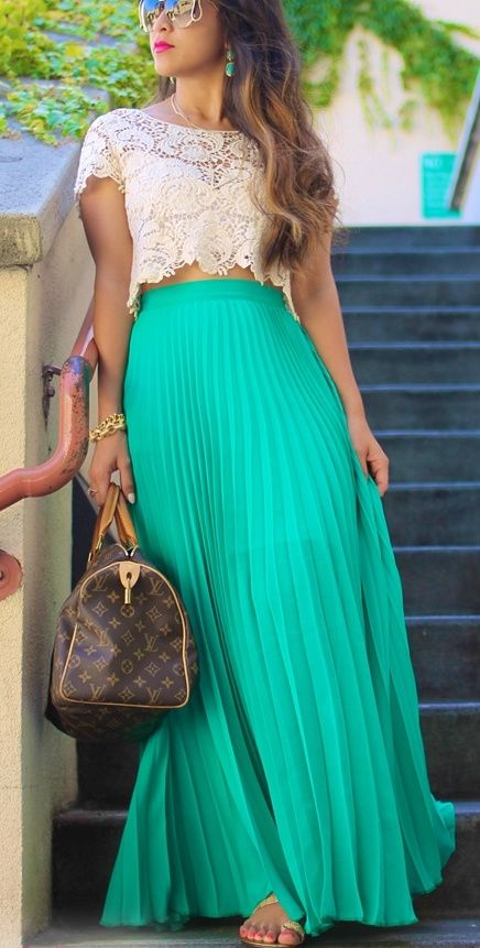 Picture Of girlish summer lace tops to get inspired  2