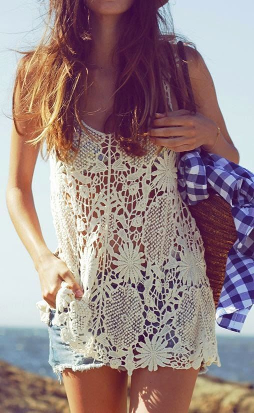 Picture Of girlish summer lace tops to get inspired  3