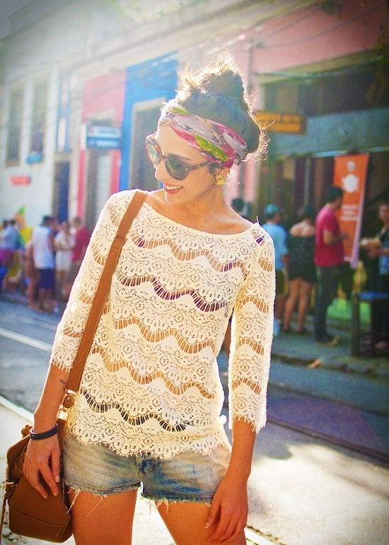 Picture Of girlish summer lace tops to get inspired  6