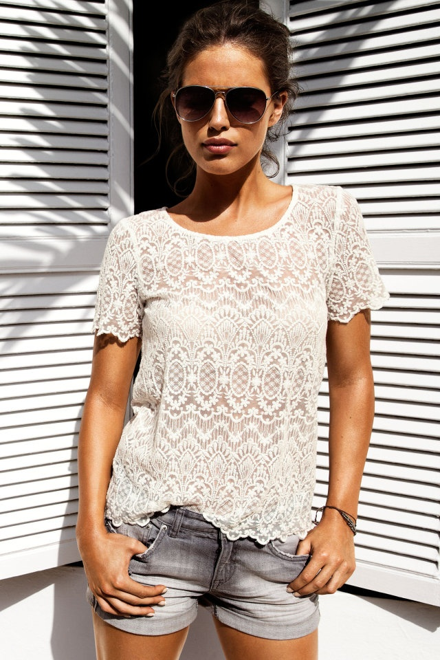 Picture Of girlish summer lace tops to get inspired  9