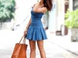 girly-diy-pleated-denim-dress-makeover-3